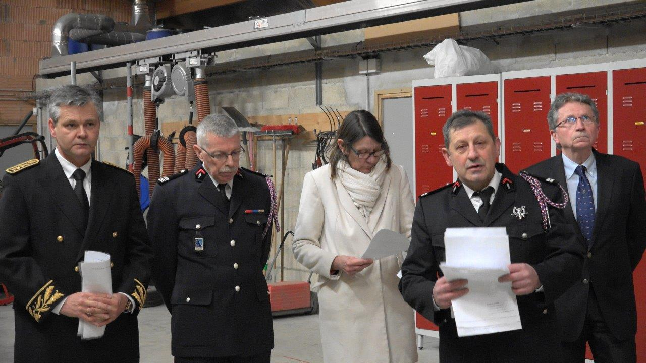 Vincent Couvent pilote le centre de secours de Trélou-sur-Marne depuis 1992.