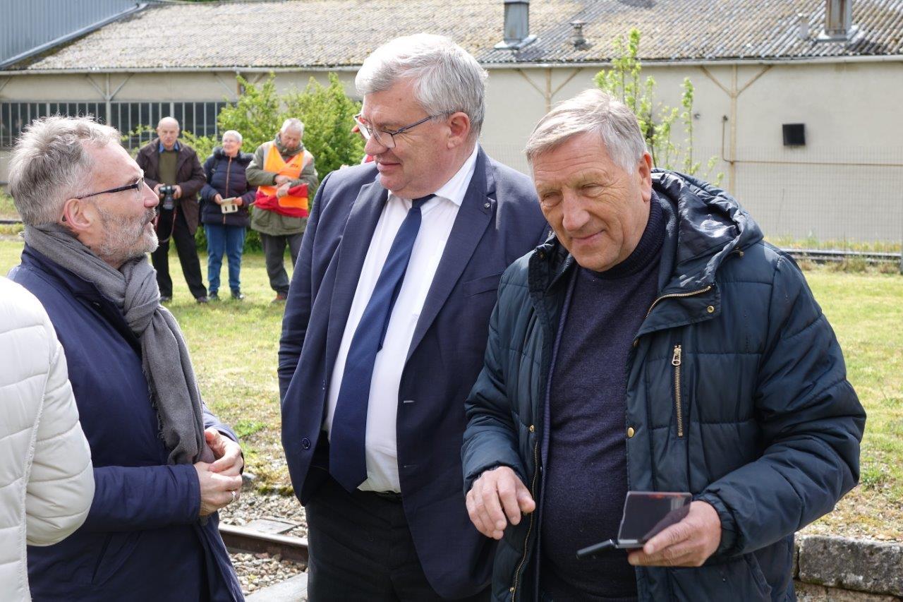 De gauche à droite : Dominique Moyse, Christian Bruyen et Jacques Krabal.