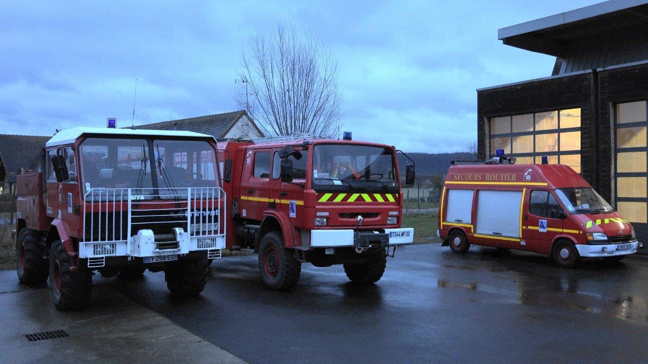 Les sapeurs-pompiers de Trélou-sur-Marne disposent d'outils leur permettant d'assurer une bonne qualité de service.