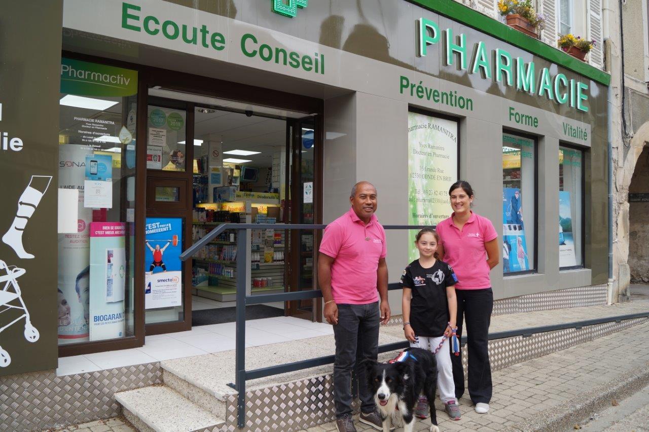 ...la Pharmacie Ramanitra à Condé-en-Brie...