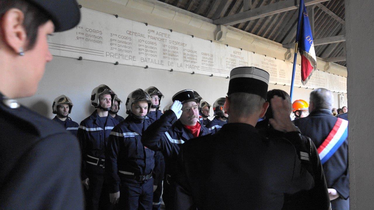 C'est au tour des Sapeurs-Pompiers de Dormans...