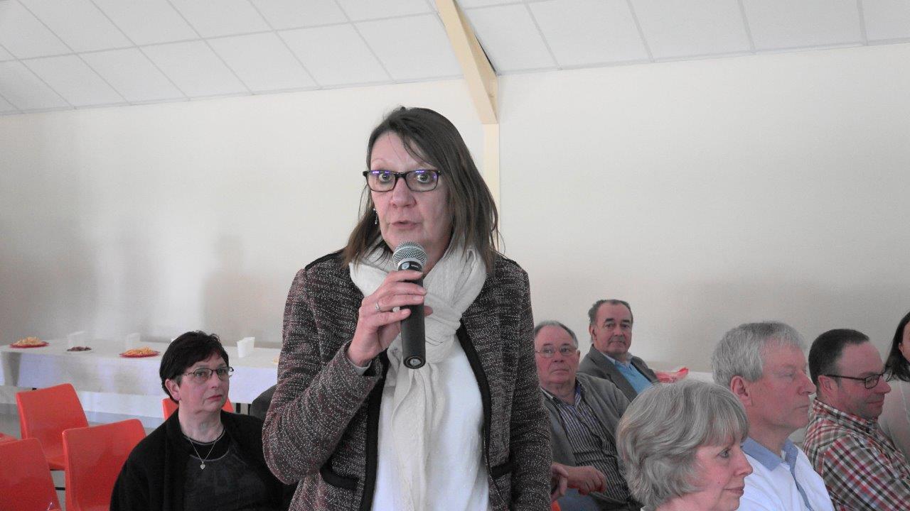 Anne Maricot, conseillère départementale de l'Aisne soutient, elle aussi, l'association sud axonaise.