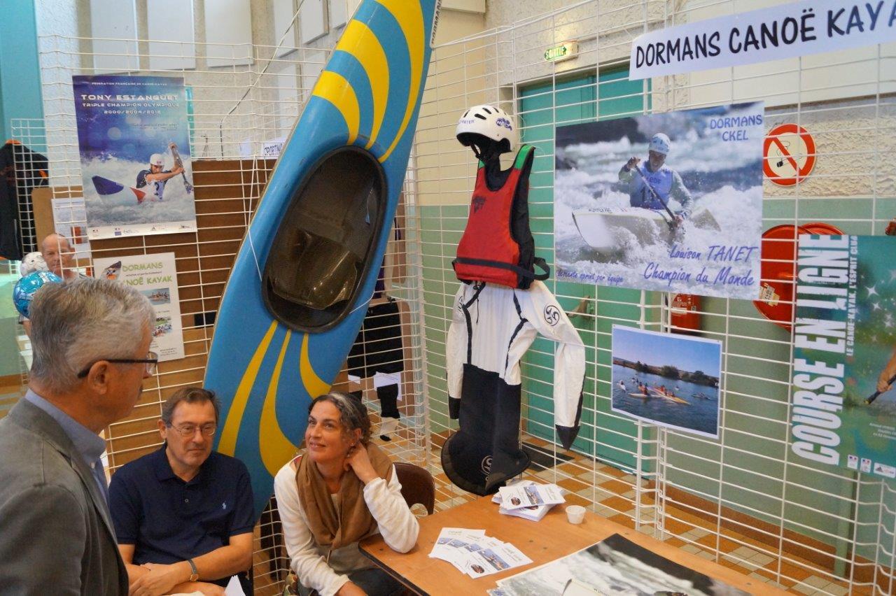 ...au Dormans Canoë-Kayak Eaux Libres...