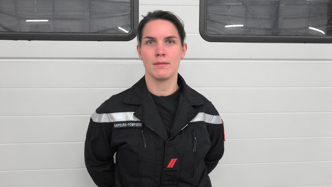 Le sapeur 1ère classe Amélie Petrus est promu caporal.