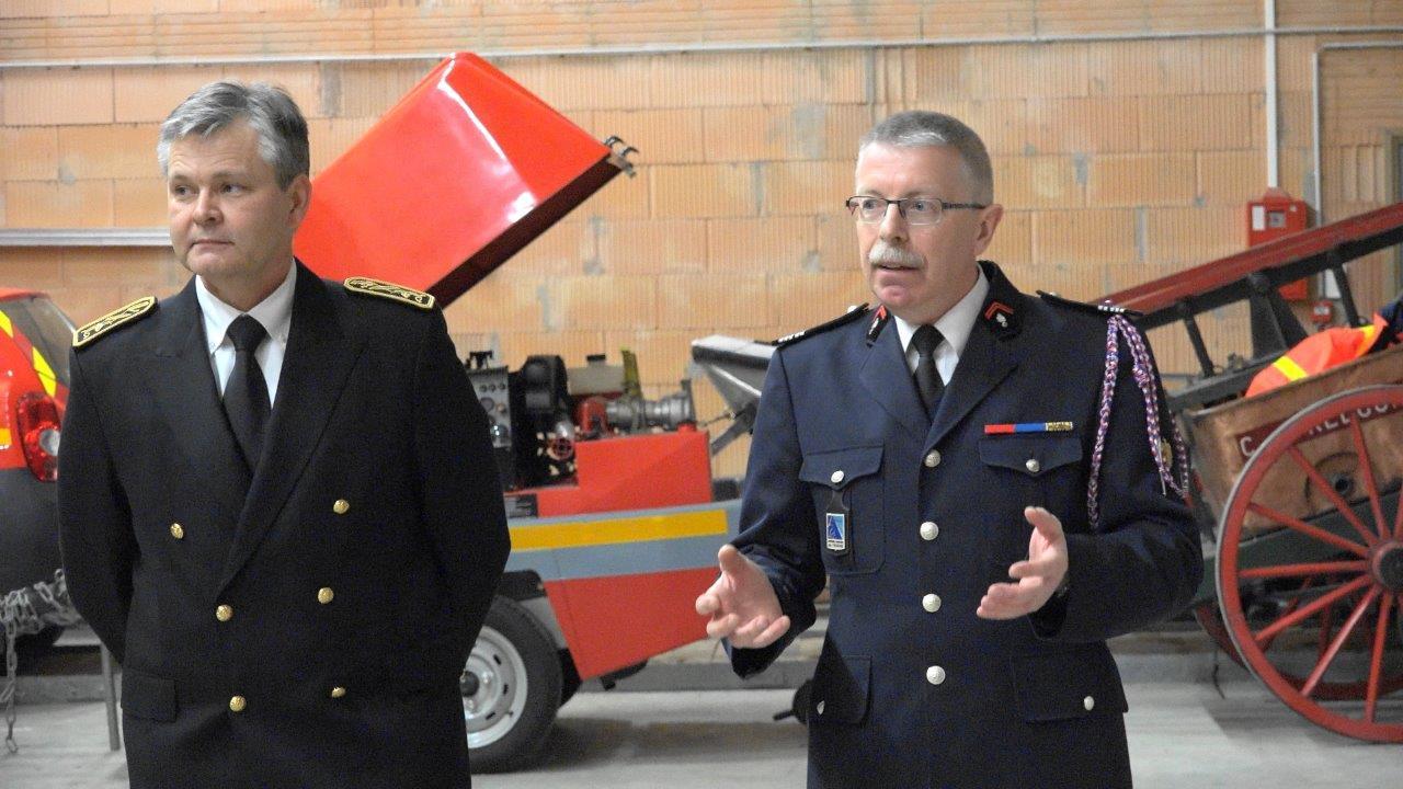 Le colonel Gilles Ragot, directeur des services et des secours d'incendie de l'Aisne.