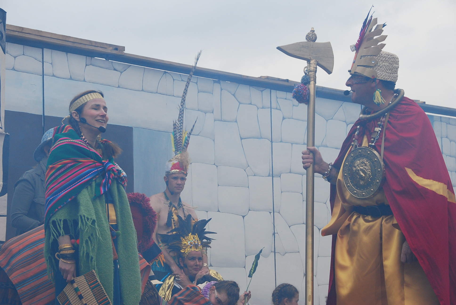 Costumes, décors, accessoires : les idées ne manquent pas pour épater le public.