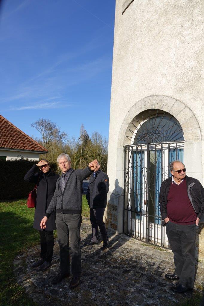 """Le siège de l'ancien syndicat d'initiative de la région de Château-Thierry deviendra un point d'arrêt sur la ligne du train touristique """"Picasso""""."""