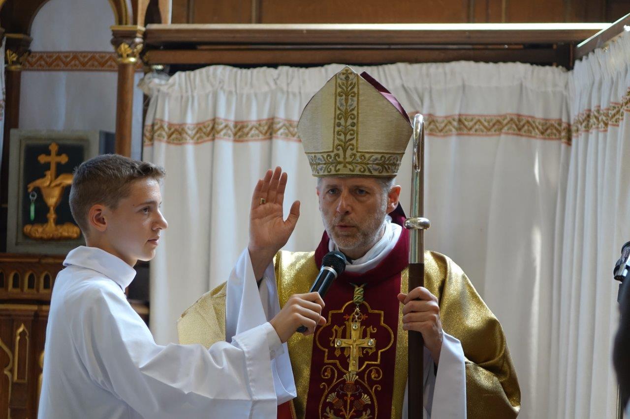 Mgr Renauld de Dinechin est le 108ème évêque de Soissons.