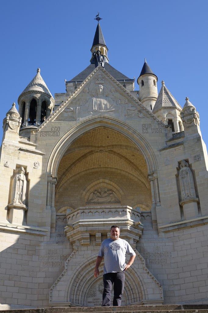 Philippe Quintais visite le Mémorial des Batailles de la Marne de Dormans...