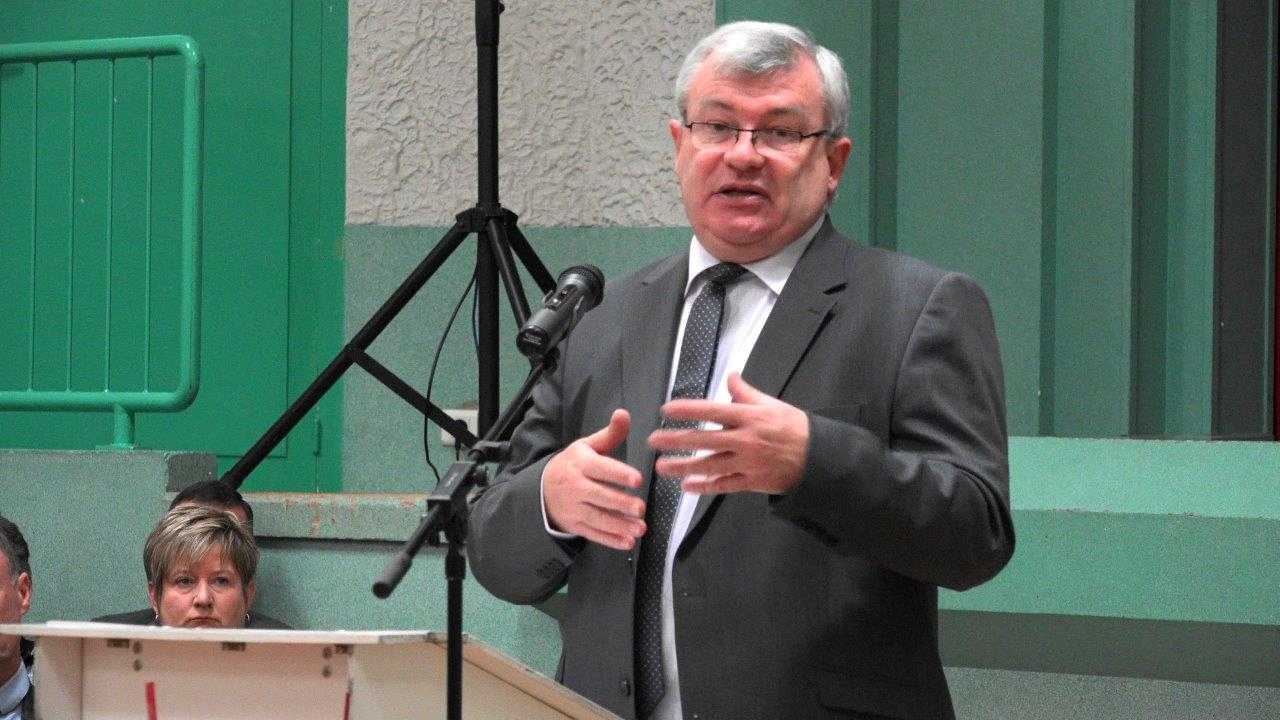 Christian Bruyen, maire de Dormans.