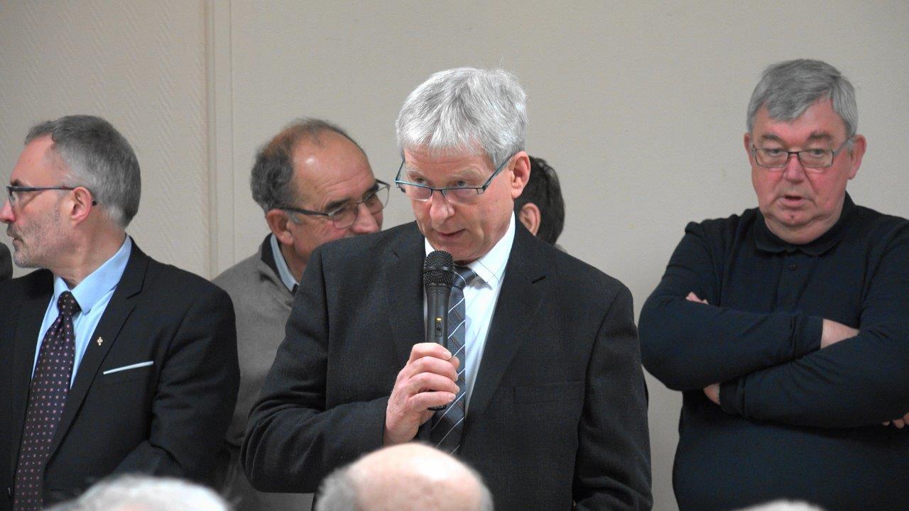 Eric Assier, maire de Condé-en-Brie.