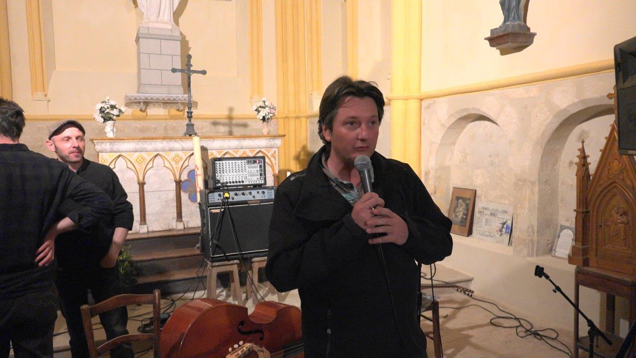 Frédéric Bernard est le directeur artistique du Festival Guitares en Picardie.