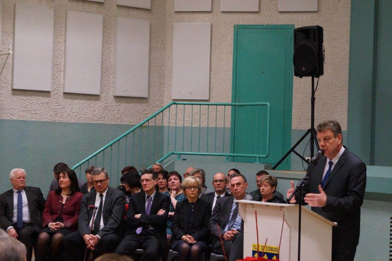 Patrick Naudin, sous-préfet de l'arrondissement d'Epernay.