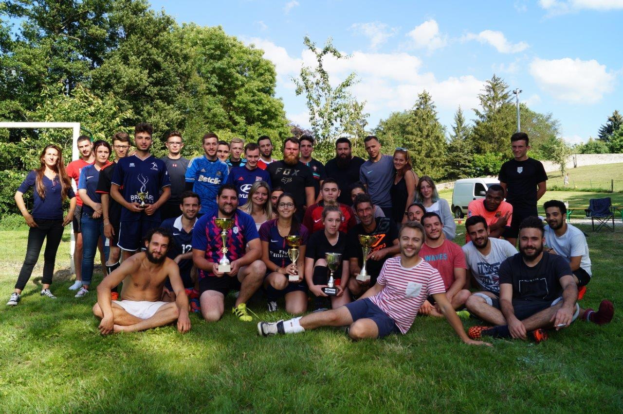 La seconde édition du tournoi de football s'achève dans une belle communion.