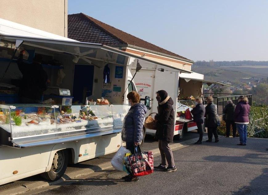 Au Breuil, les commerçants ambulants ne sont pas soumis au paiement d'une redevance liée à l'emplacement.