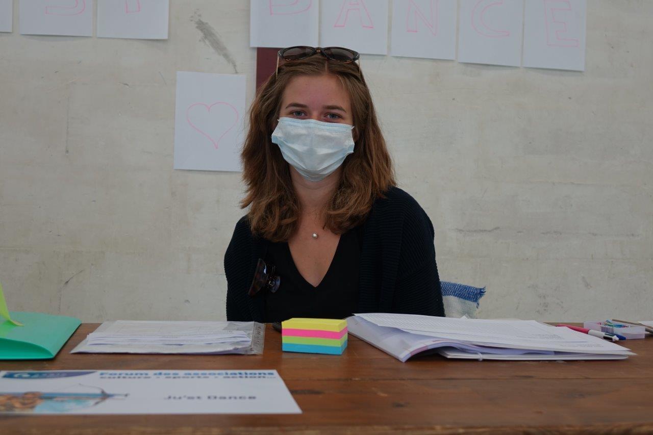 Juliette Boele pilote la toute nouvelle association Ju'st Dance basée à Mont-Saint-Père...