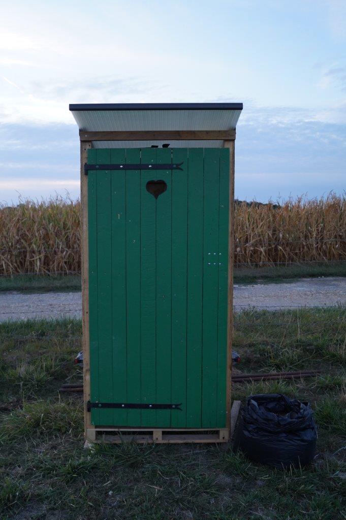 Les toilettes sèches ont décidément le vent en poupe dans les différents rassemblements sud axonais.