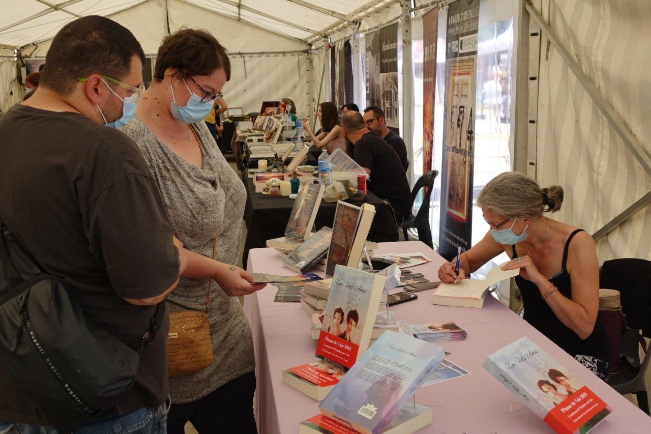 Les visiteurs ont rencontré leurs auteurs et illustrateurs favoris...