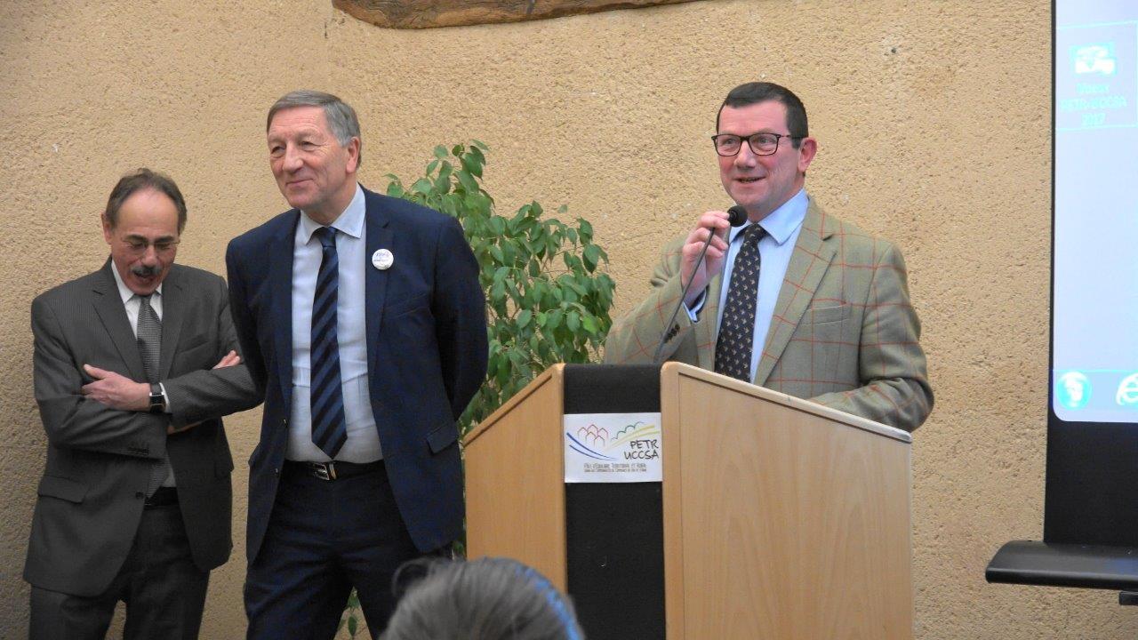Olivier Devron, vice-président de la Communauté de Communes de Charly-sur-Marne.