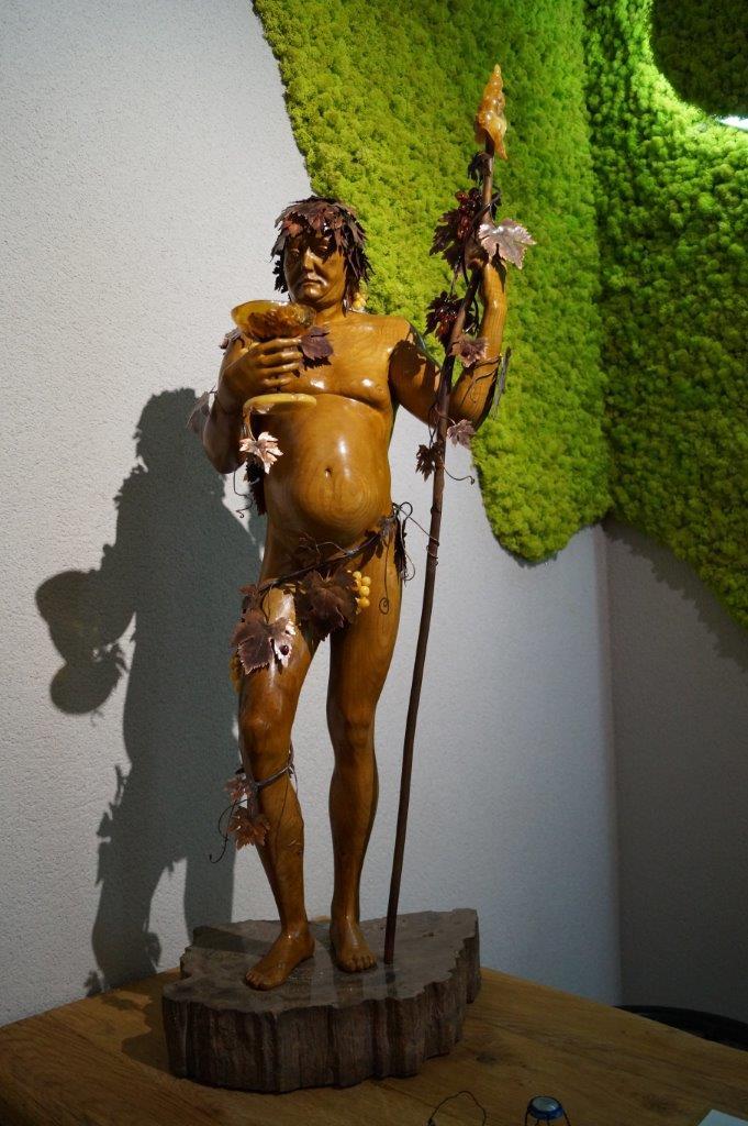 Une oeuvre du sculpteur Jacek Sumaredzki.