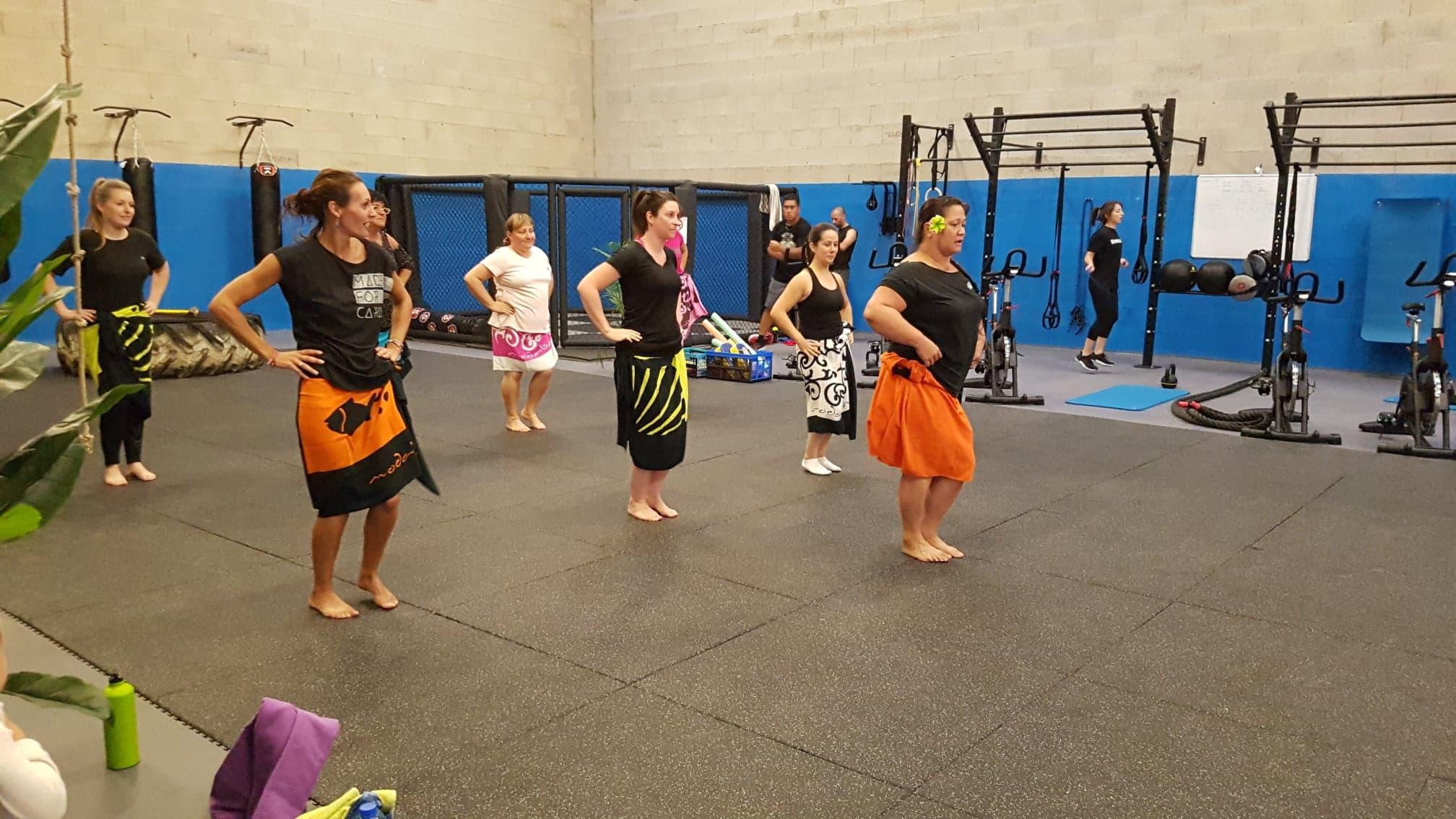 ...ou encore Danse tahitienne, sont notamment pratiqués au sein du Battle Club.