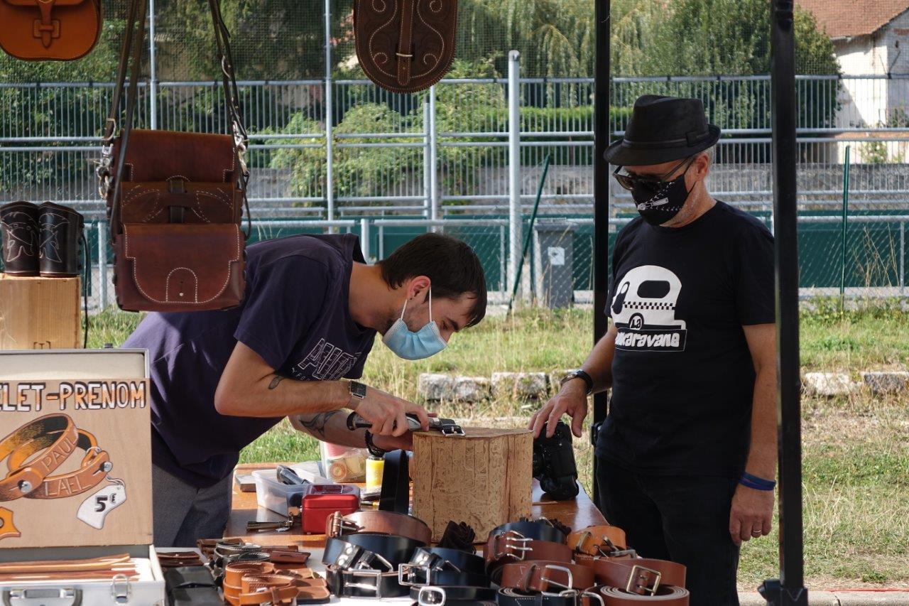 L'artisan maroquinier Marobleu fait tout dans le cuir, pas dans la batterie de cuisine...