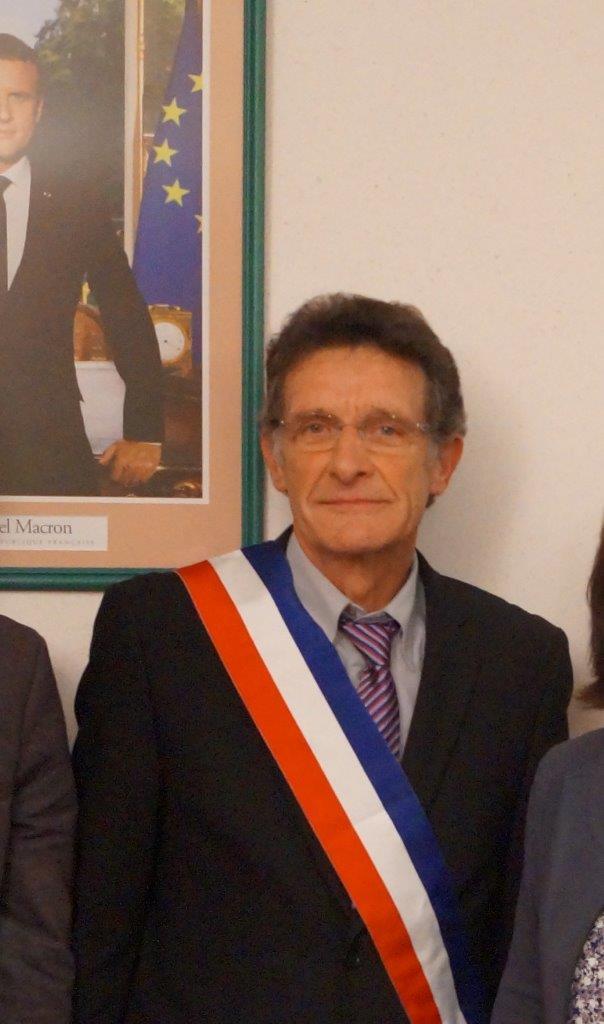 Michel Courteaux, le nouveau maire de Dormans.