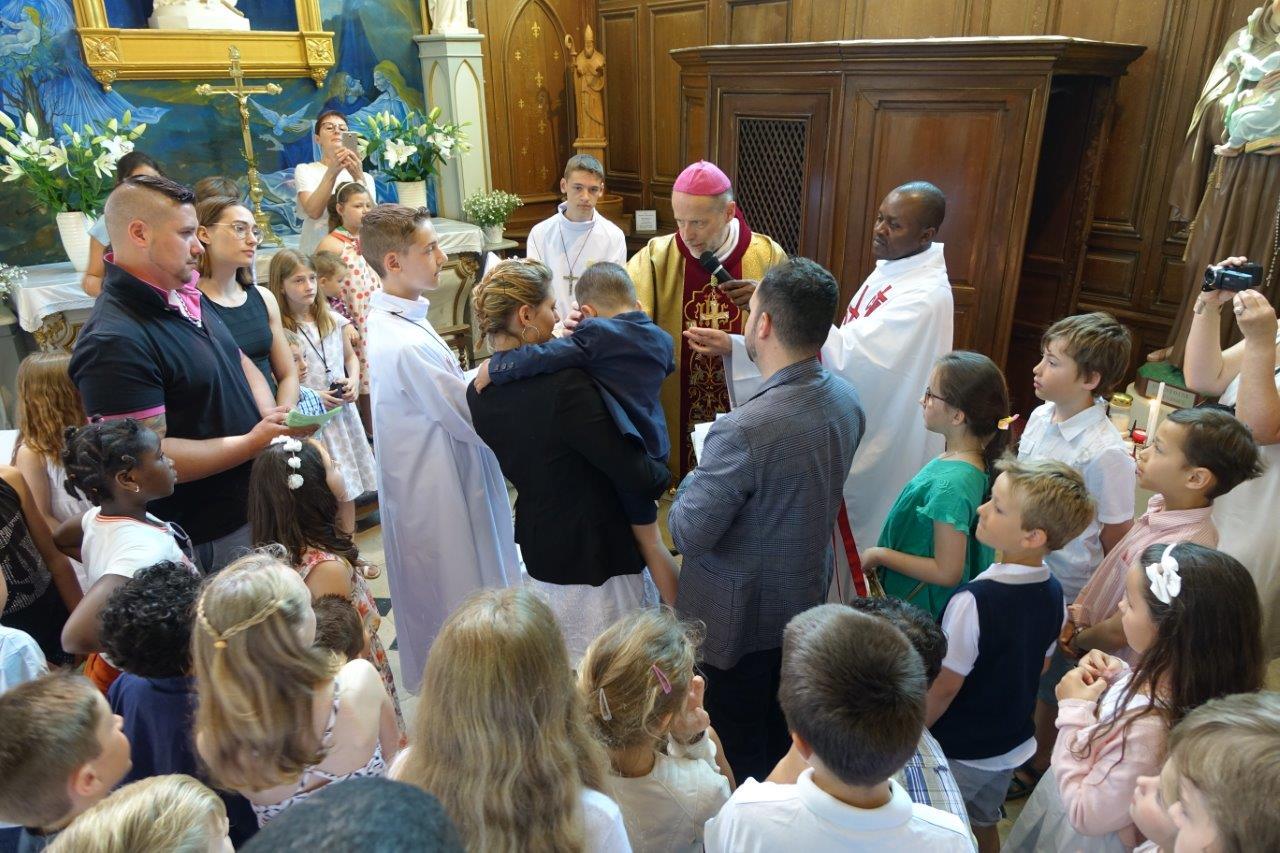 Le baptême...