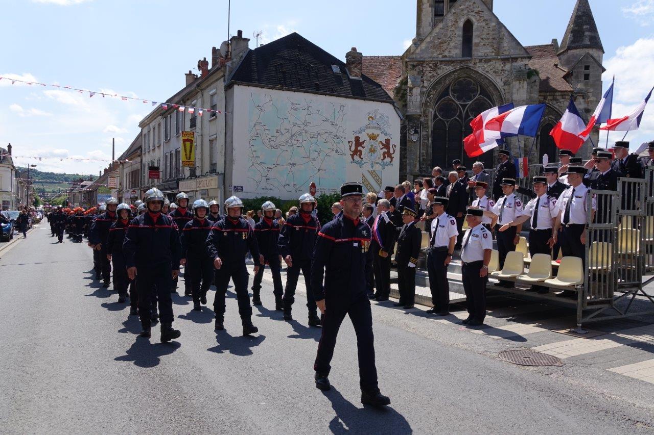 Le capitaine Pascal Briand, responsable du centre de secours de Dormans, et ses hommes jouent à domicile...