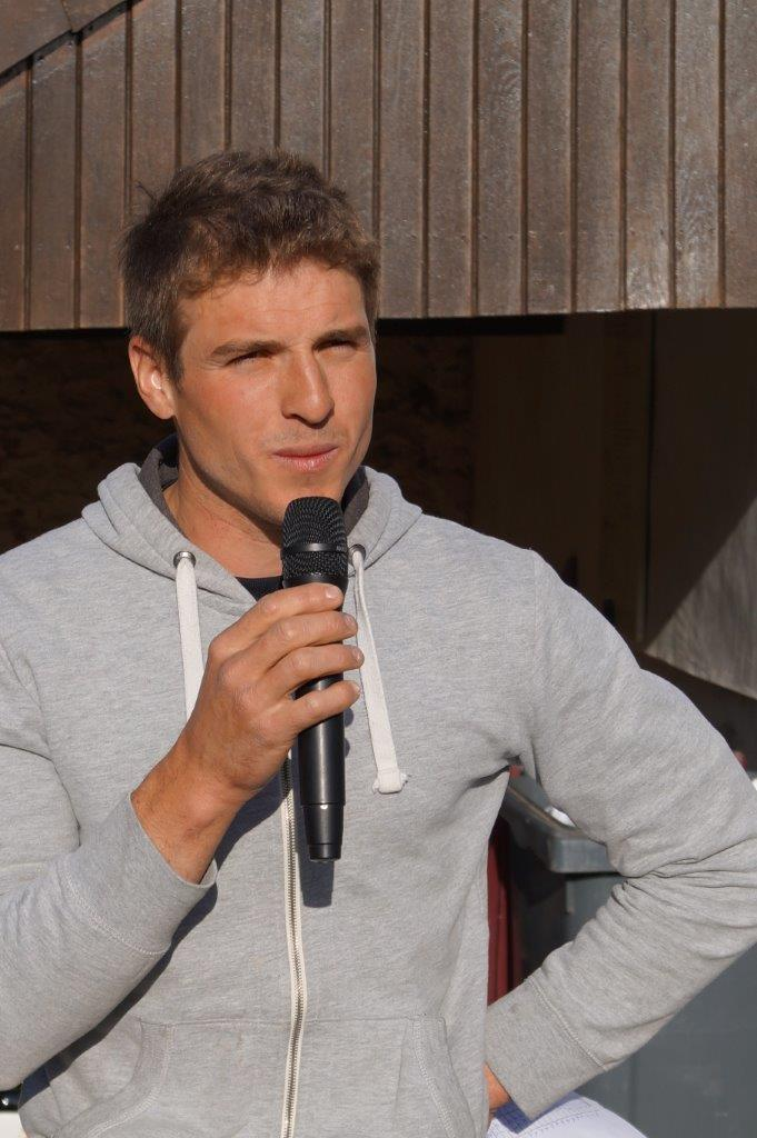 Louison Tanet est le président du Comité des fêtes de La Chapelle-Monthodon.