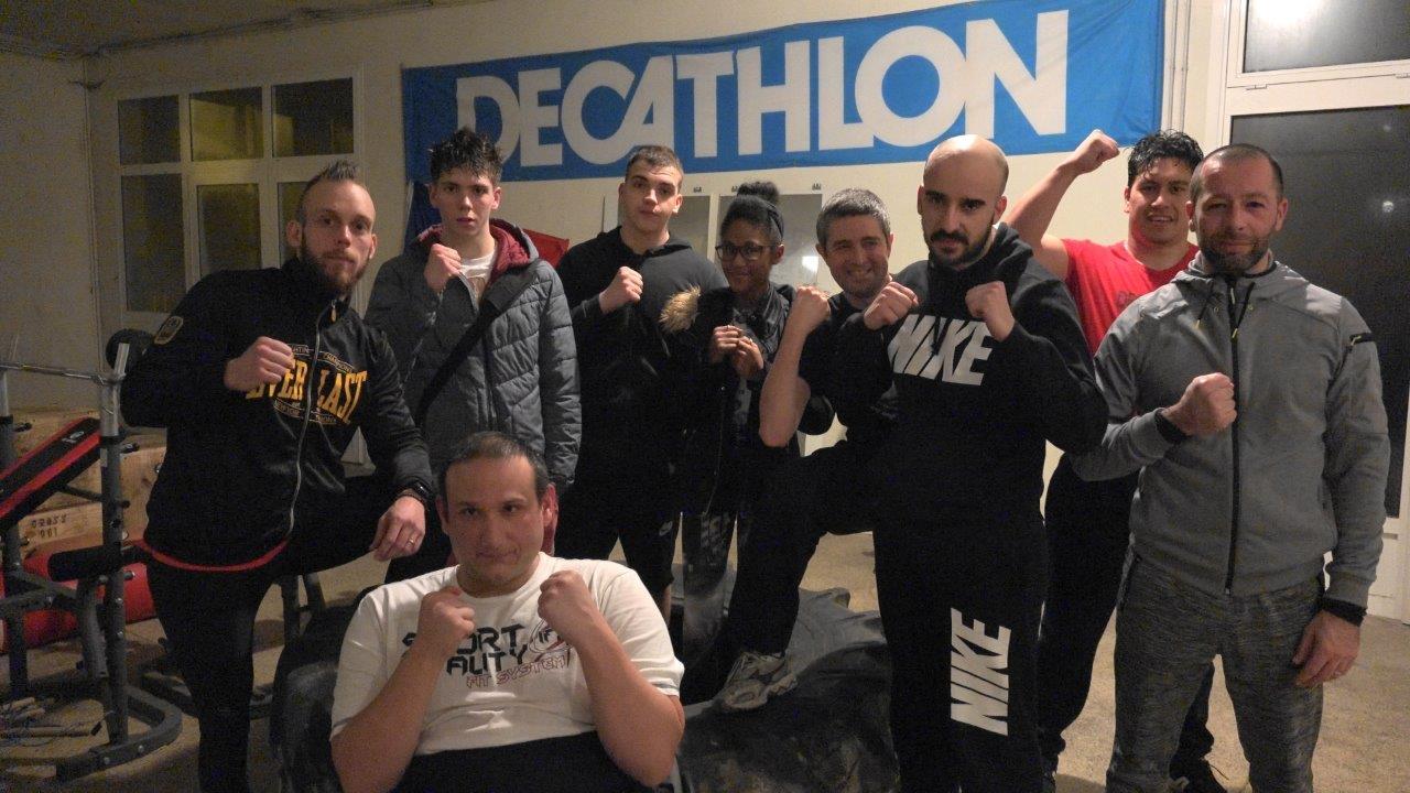 Grégory Forest devrait prendre bientôt une licence sportive Handi-boxe au Battle Club Vierzy.