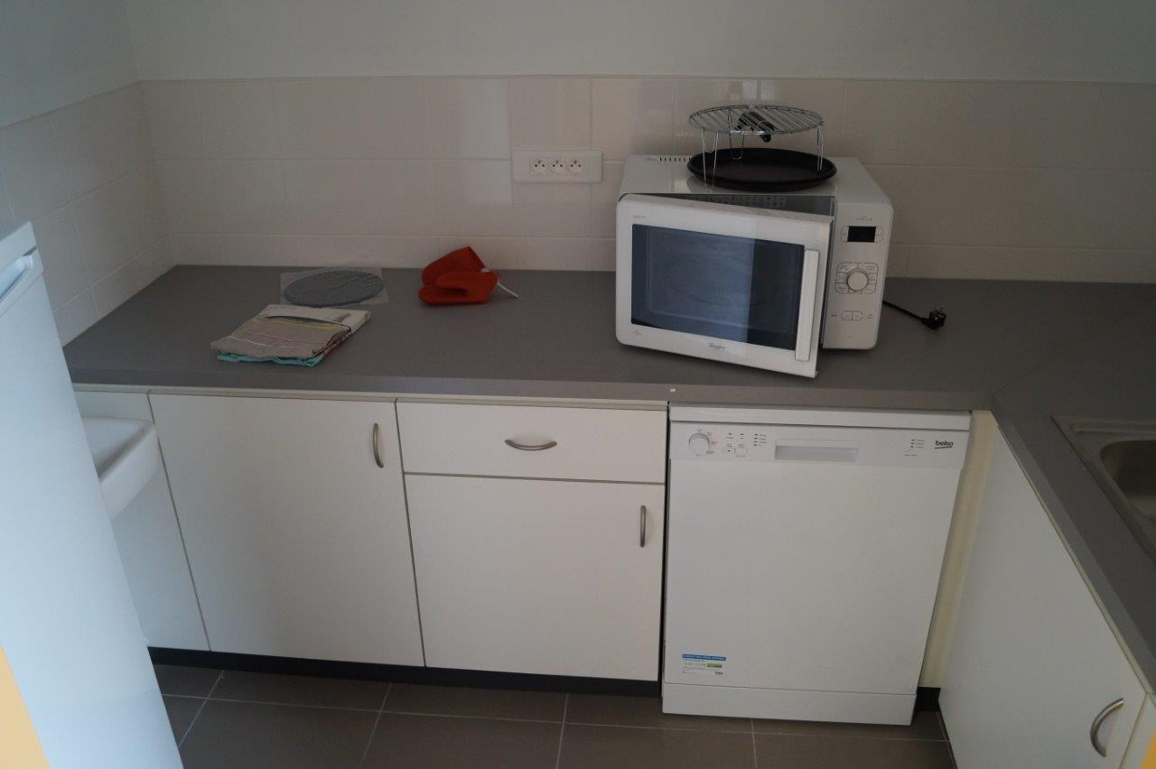 La cuisine est opérationnelle dans quelques jours.