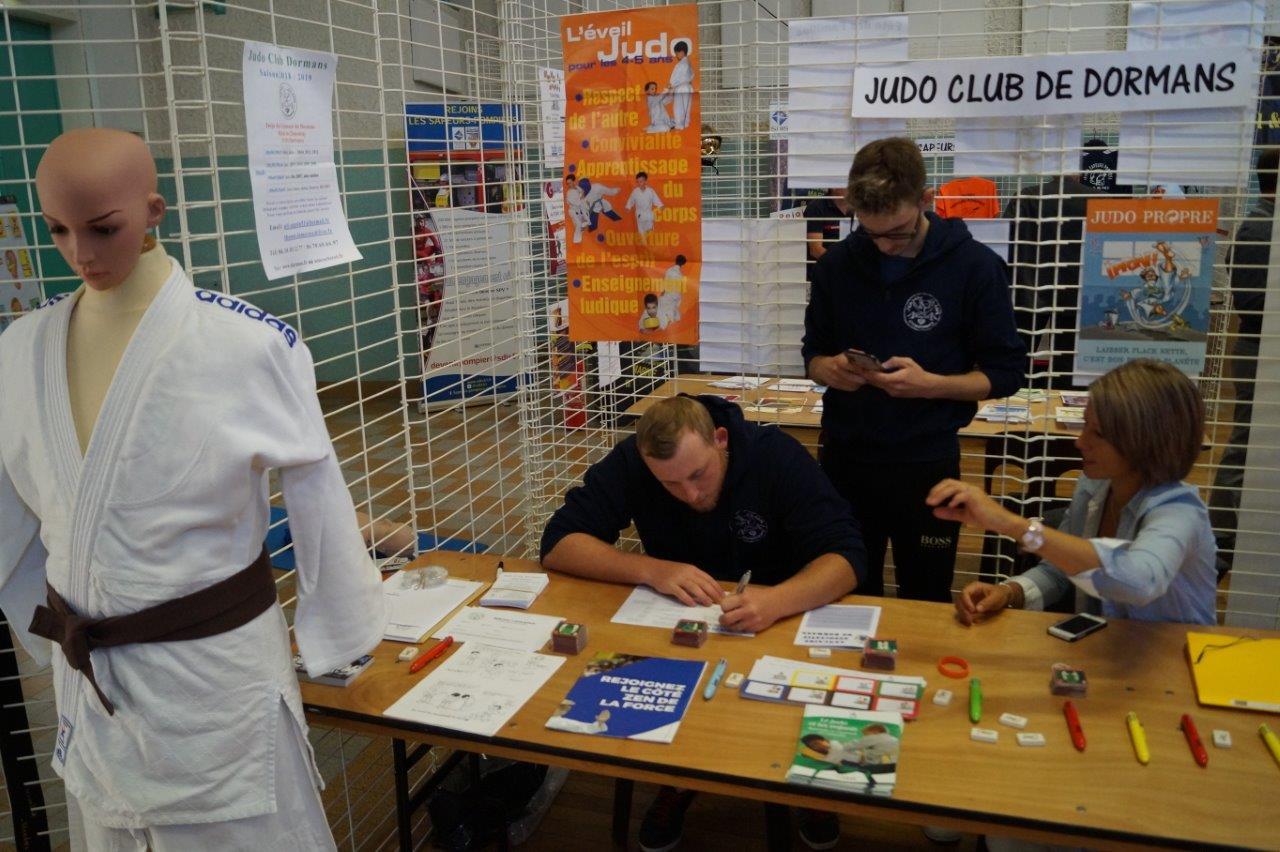 ...au Judo Club...