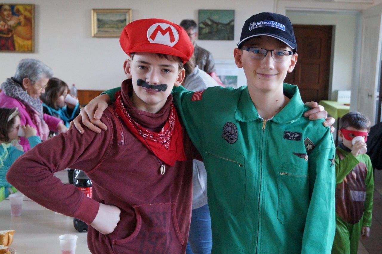 Mario a participé à l'édition 2018 en compagnie d'un nouvel ami, aviateur.