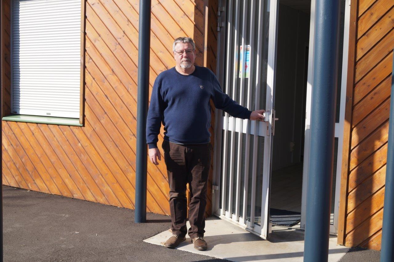 Philippe Dumont préside l'association Dormans Initiative Partagée.