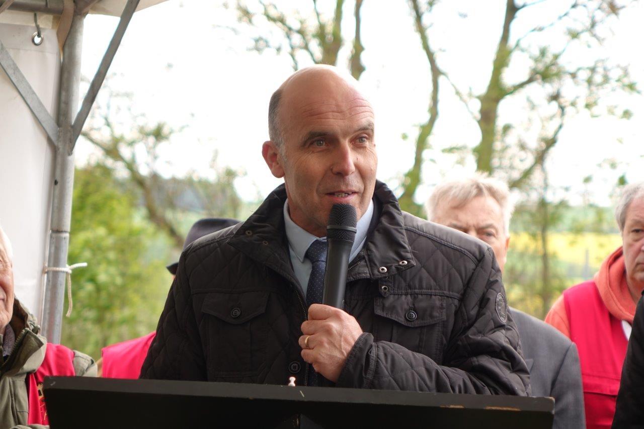Etienne Dhuicq, maire de Montmirail...