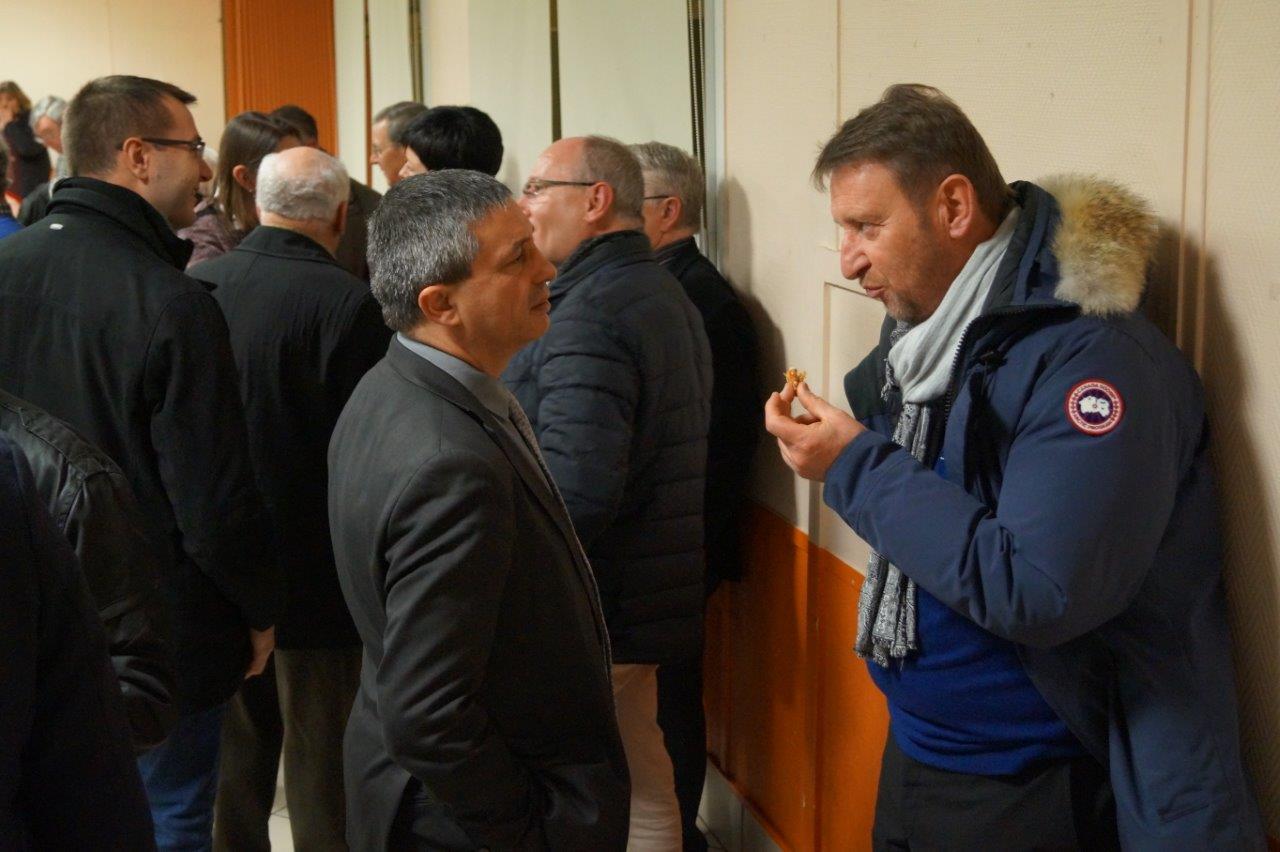 Rencontre au sommet entre l'UDI (à gauche : Nicolas Fricoteau) et Les Républicains (à droite : Eric Mangin).