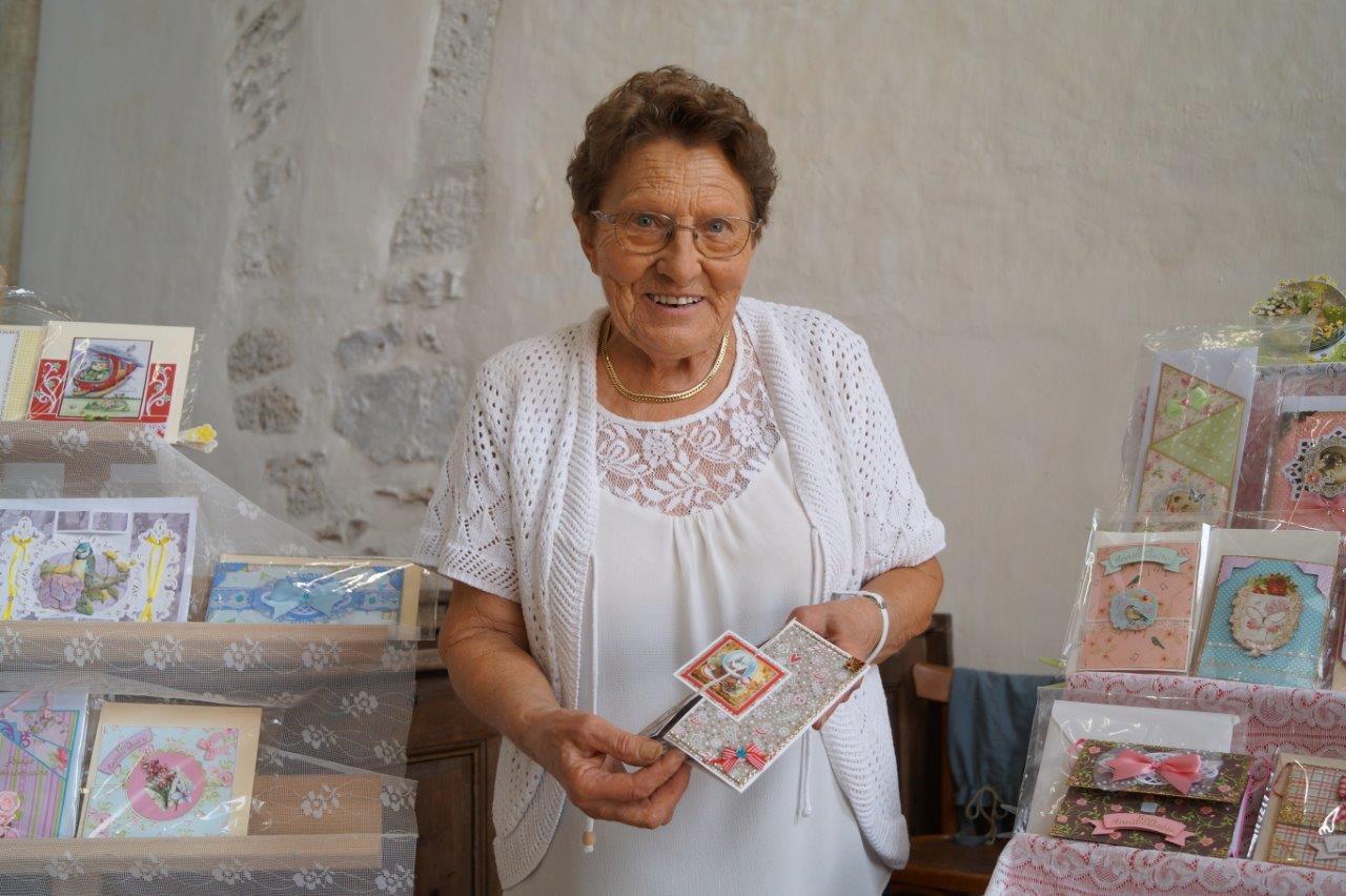 A 84 ans, Henriette Diouy a un talent certain.