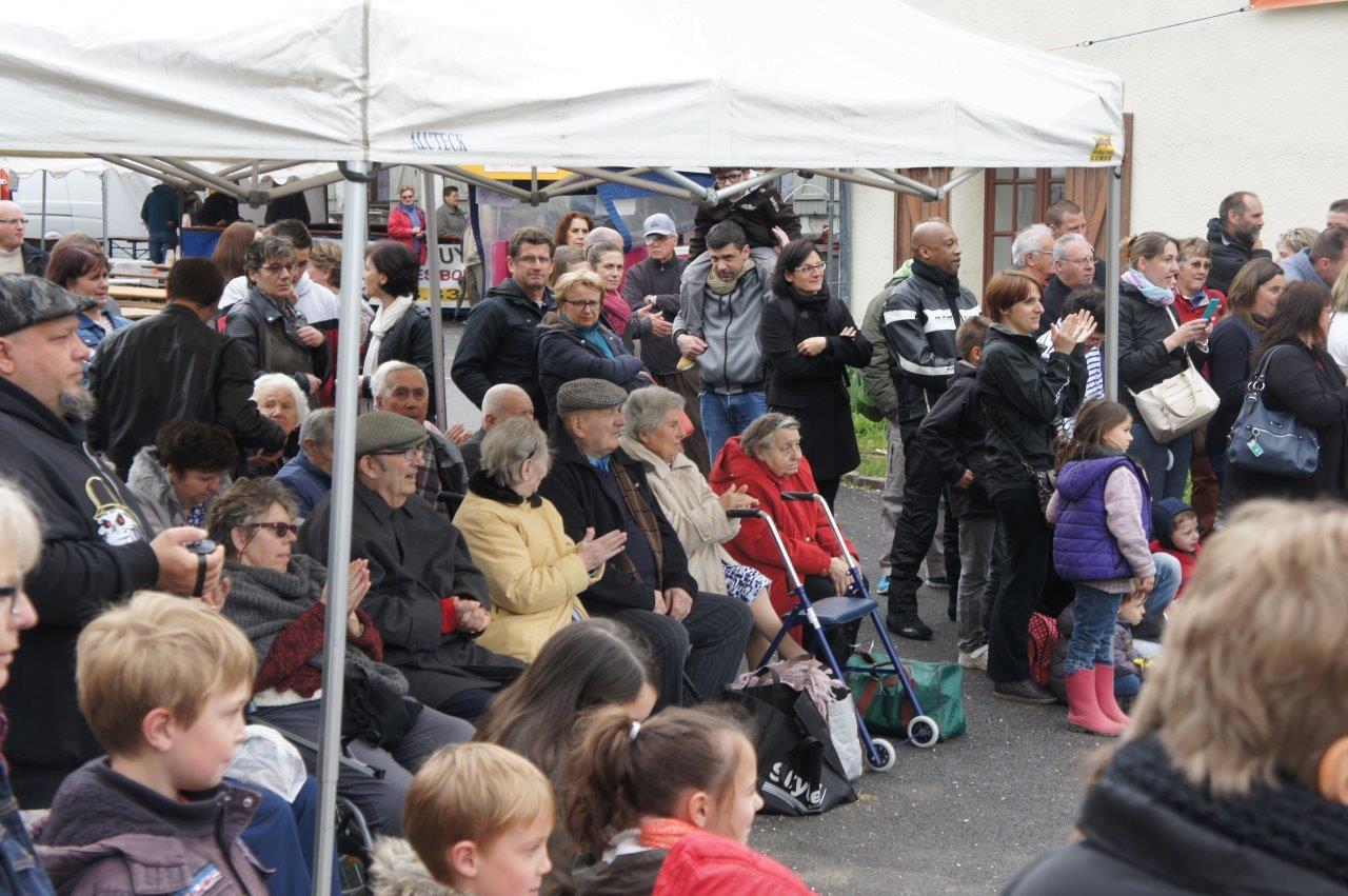 Venus notamment de Condé-en-Brie, une vingtaine de résidents des maisons de retraite du territoire ont assisté à une représentation.