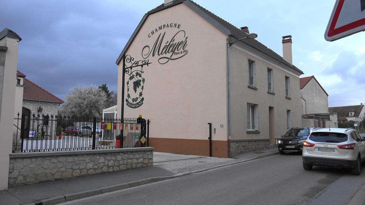 La Maison de Champagne Météyer accueille régulièrement des expositions dans sa galerie-musée.