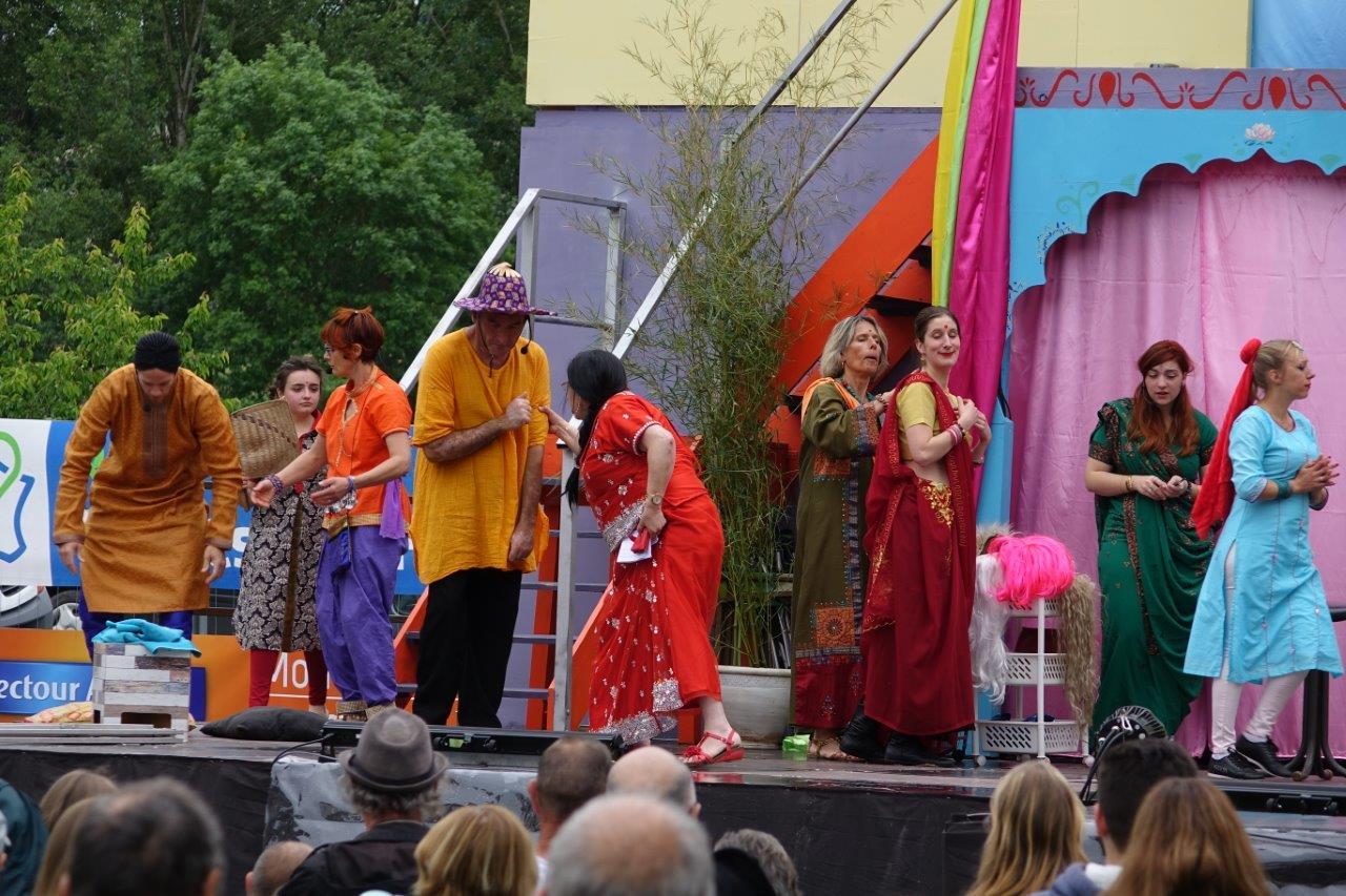 La comédie musicale indienne a demandé un gros travail aux acteurs amateurs de l'ACPV...