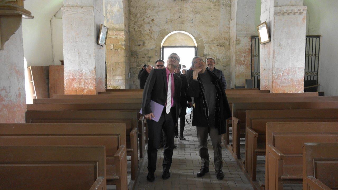 Baulne-en-Brie : visite de l'église saint Barthélémy.