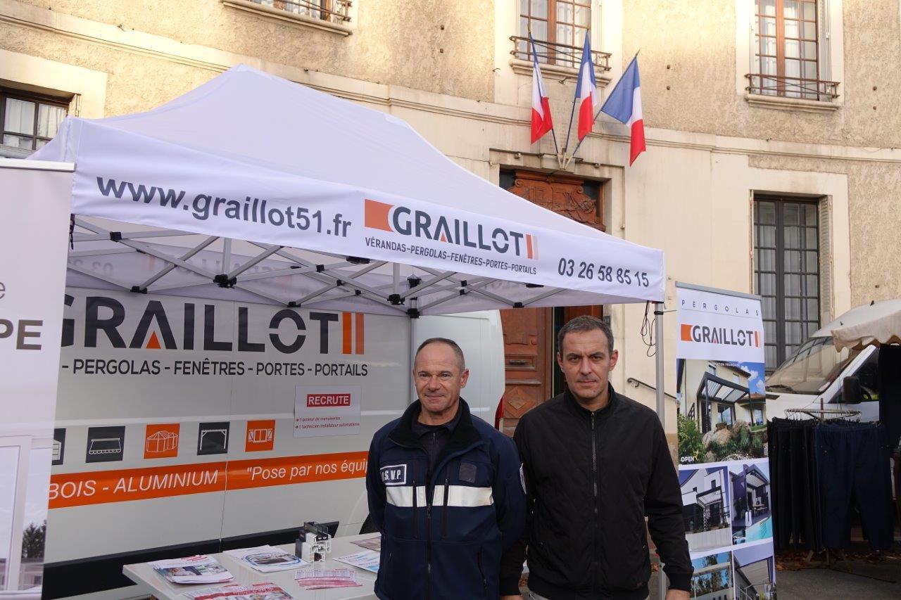 De gauche à droite : Alain Brazier et Manuel Cordeiro.