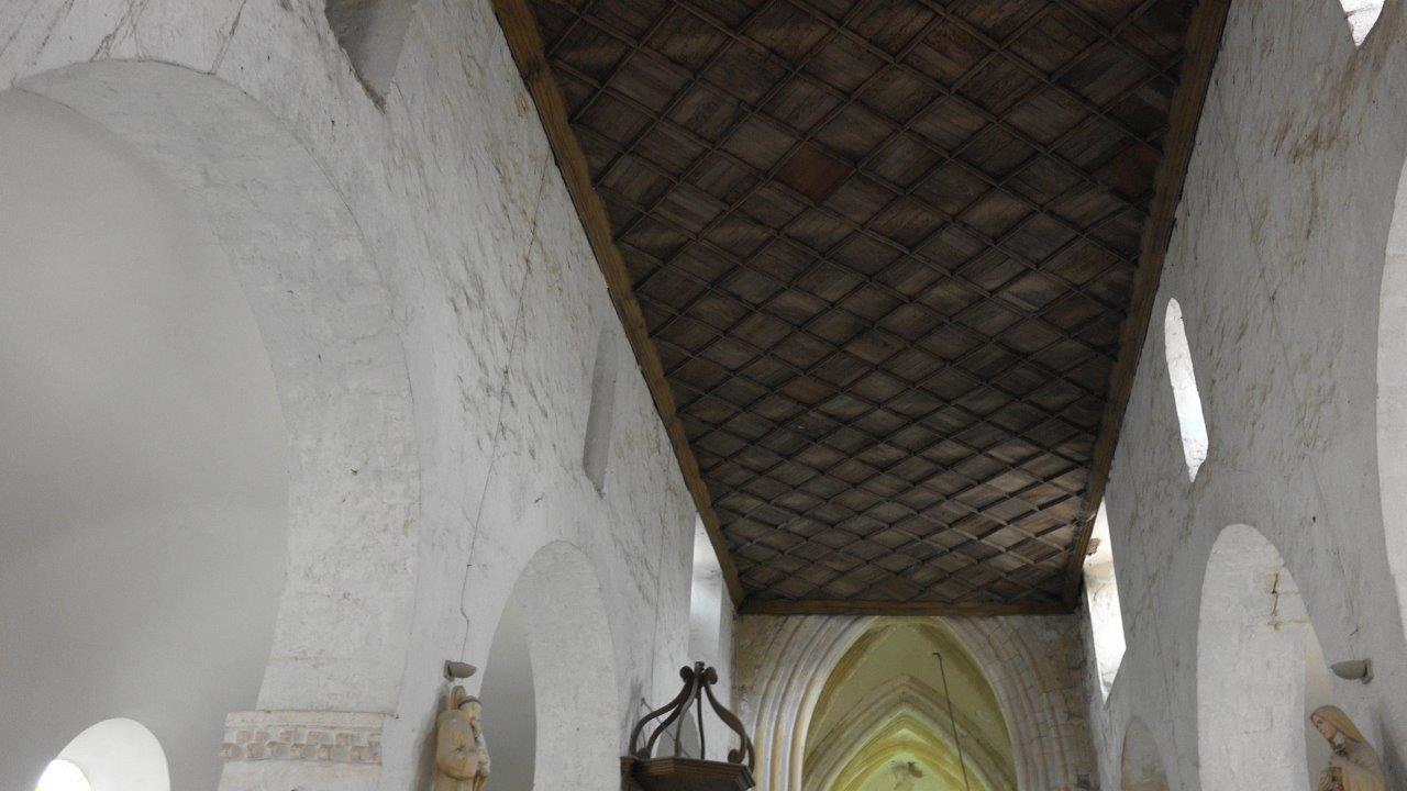 Le magnifique plafond a interpellé le sous-préfet !