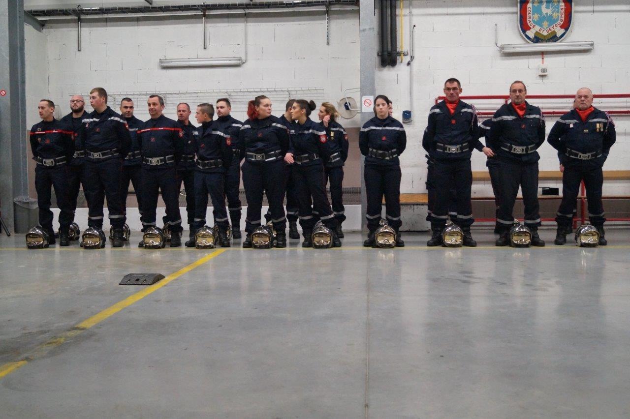 Le centre de secours de Dormans est composé uniquement de sapeurs-pompiers volontaires.