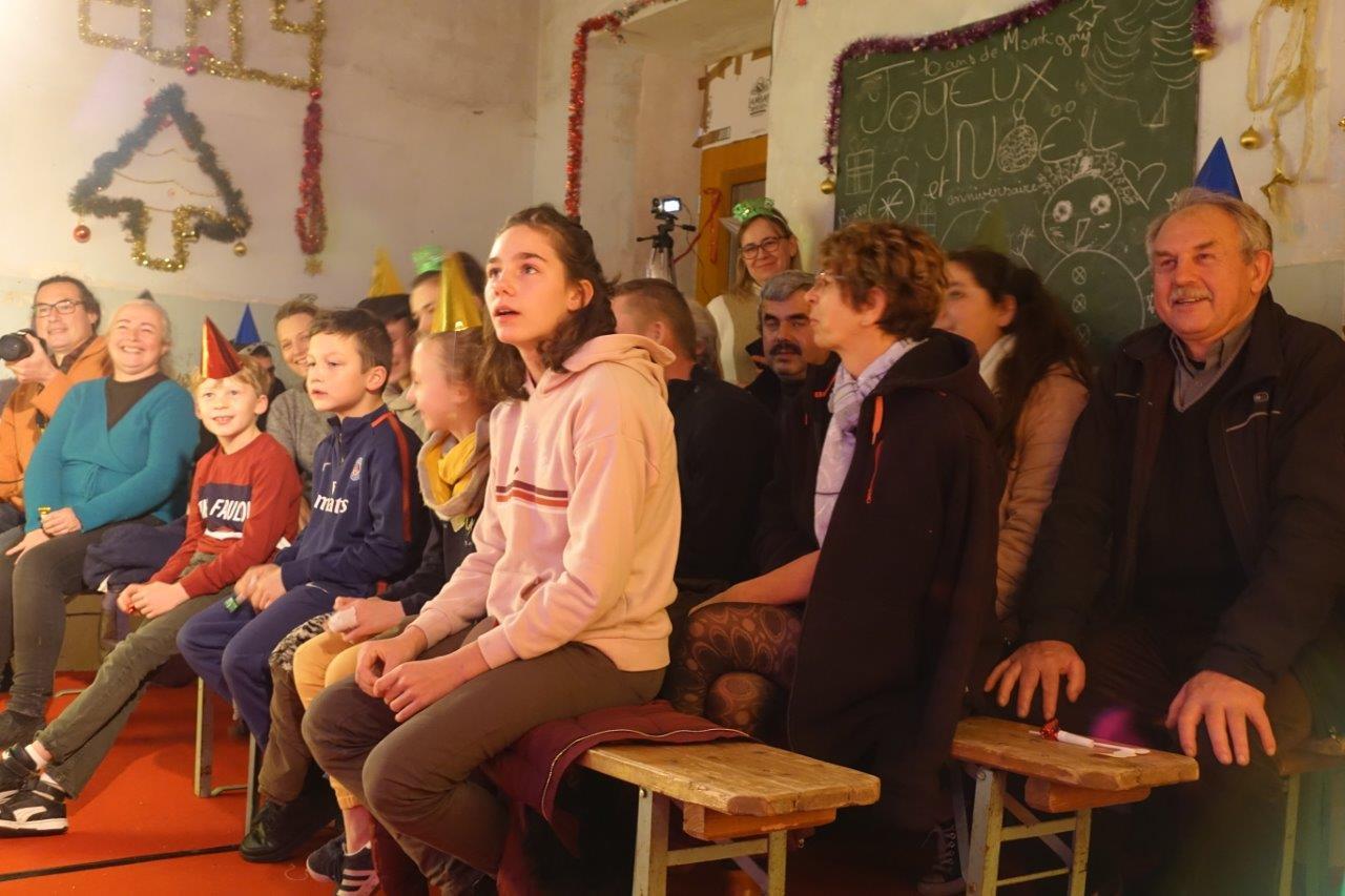 Le public a assisté cette année au spectacle intitulé Le Cabaret des Lutins.