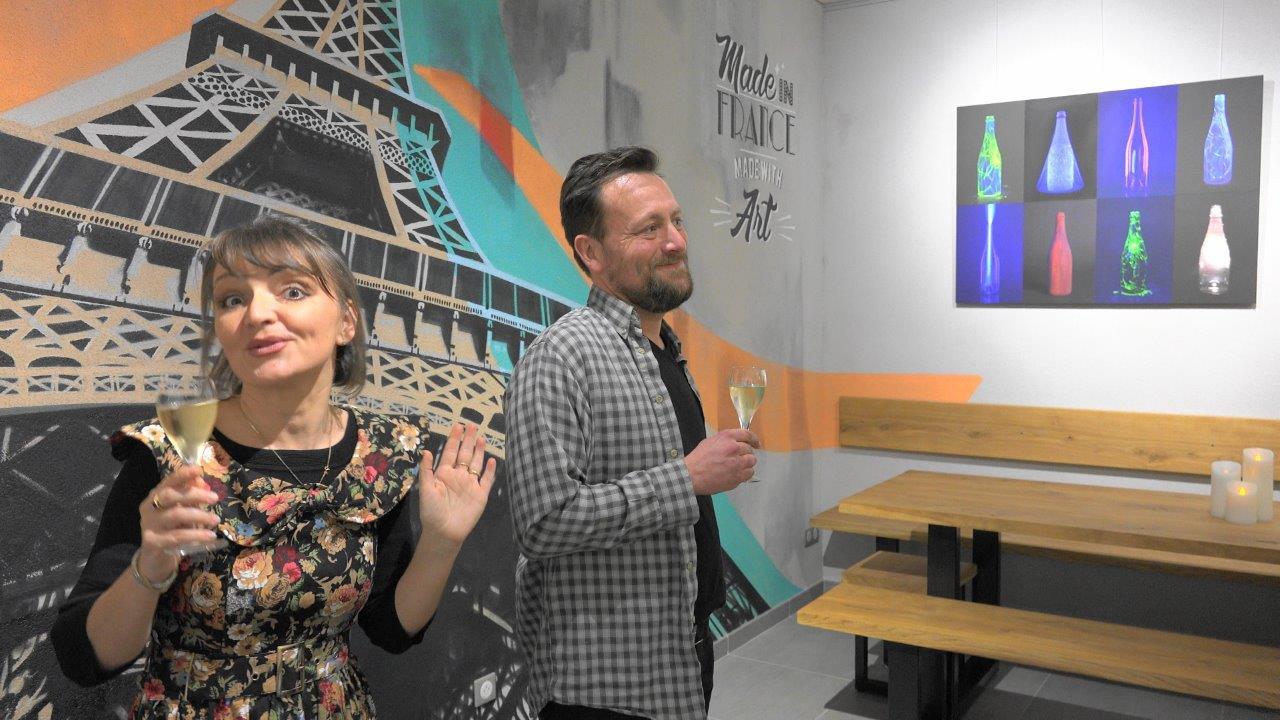 Anna Météyer se bat, contre vents et marées, pour offrir au public du territoire et d'ailleurs des expositions d'art de qualité.