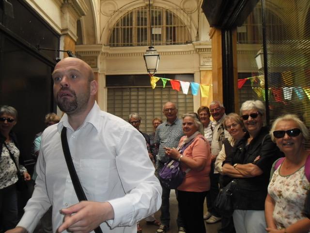 Suivez Jean-Philippe, le guide du jour...