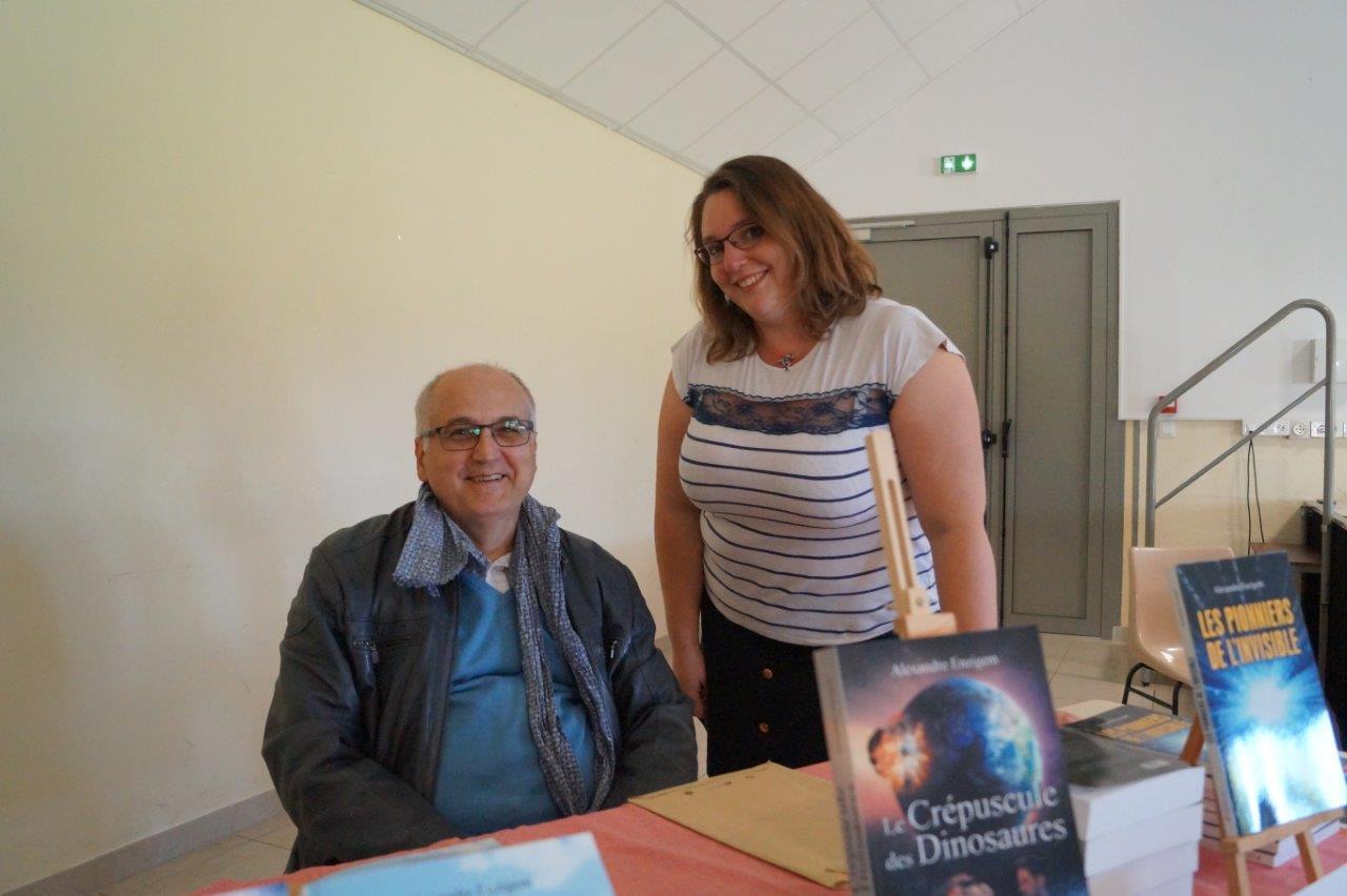 A gauche : Alexandre Enzigem.
