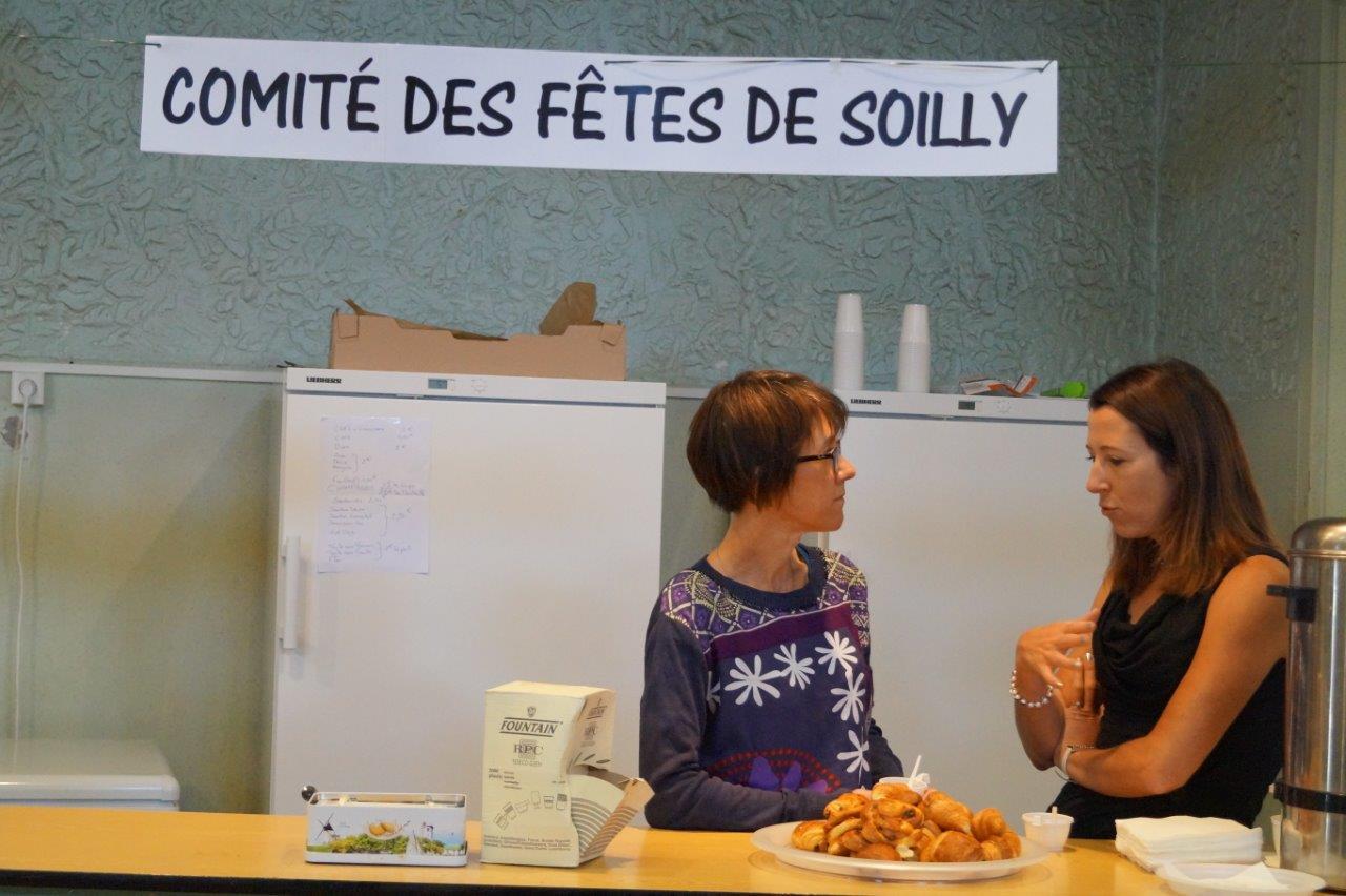 Le Comité des Fêtes du hameau de Soilly n'hésite pas à donner un coup de main lors des manifestations organisées à Dormans.